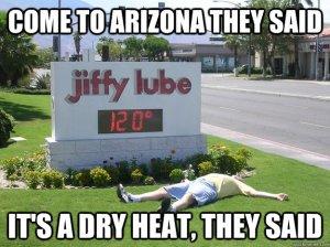 AZ dry heat