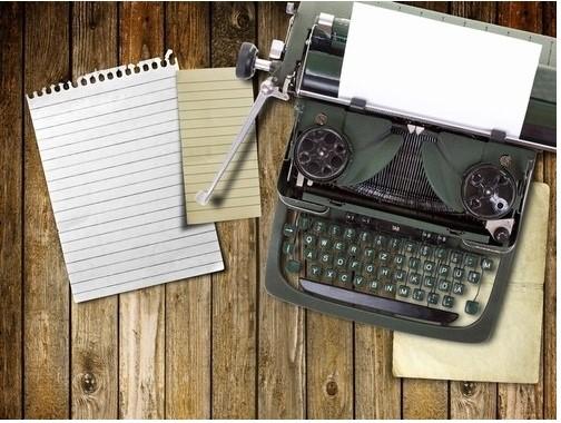 cabin typewriter